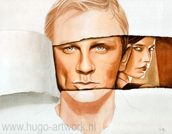 Daniel Craig by HugoBaur